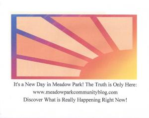 It's a New Day in Meadow Park!