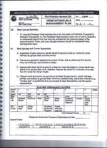 Novato Fire Protection Standard 220  Vegetation/Fuels Management Plan (cont'd) page 25