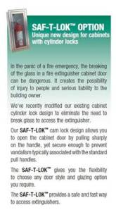 Label for our fire extinguishers. This is located on some others in our community but not here on Captain Nurse Circle as of yet...